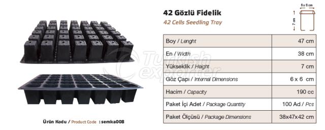 42 bacs de semis