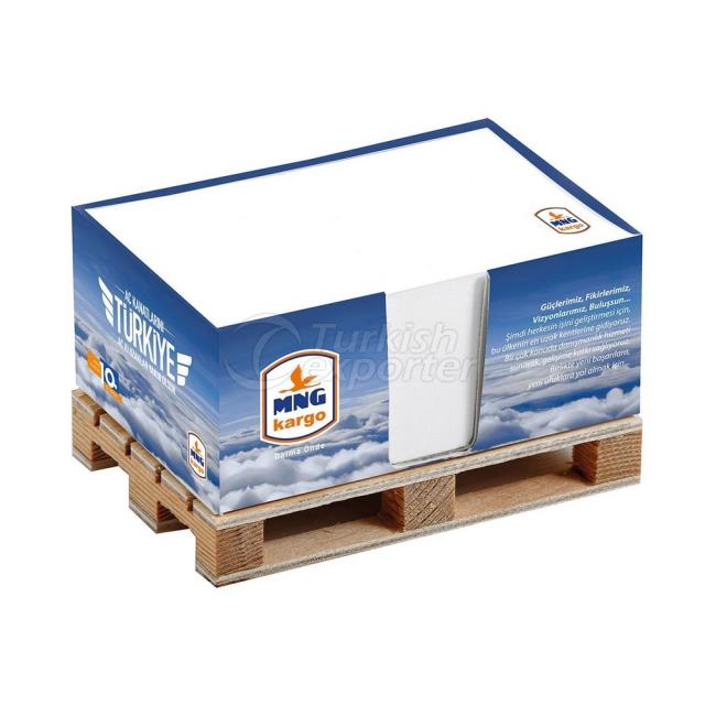 Boxed Pallet Note Holder