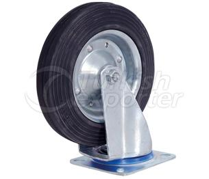 200x50 Wide Tong Swivel Wheel