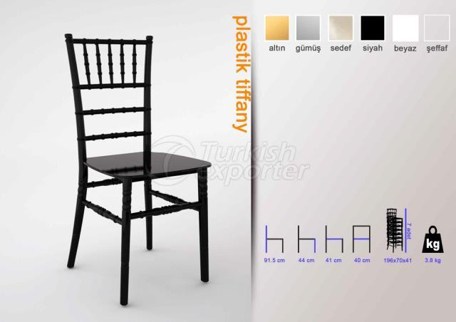 Plastic Tiffany Chair