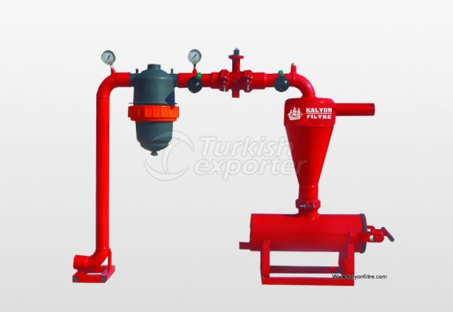 Obur Series - Complete System With Plastic Filter
