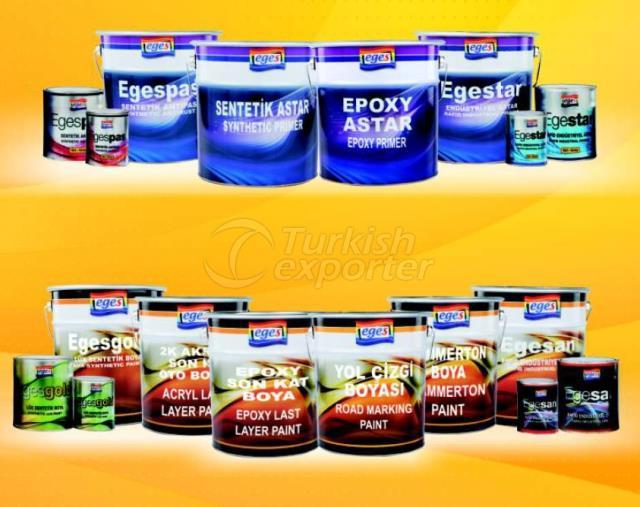 Solvent Bazlı Ürünler