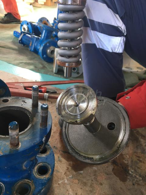 Safety Safety Valve repair / tests