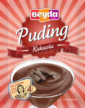 Puding Çikolatalı