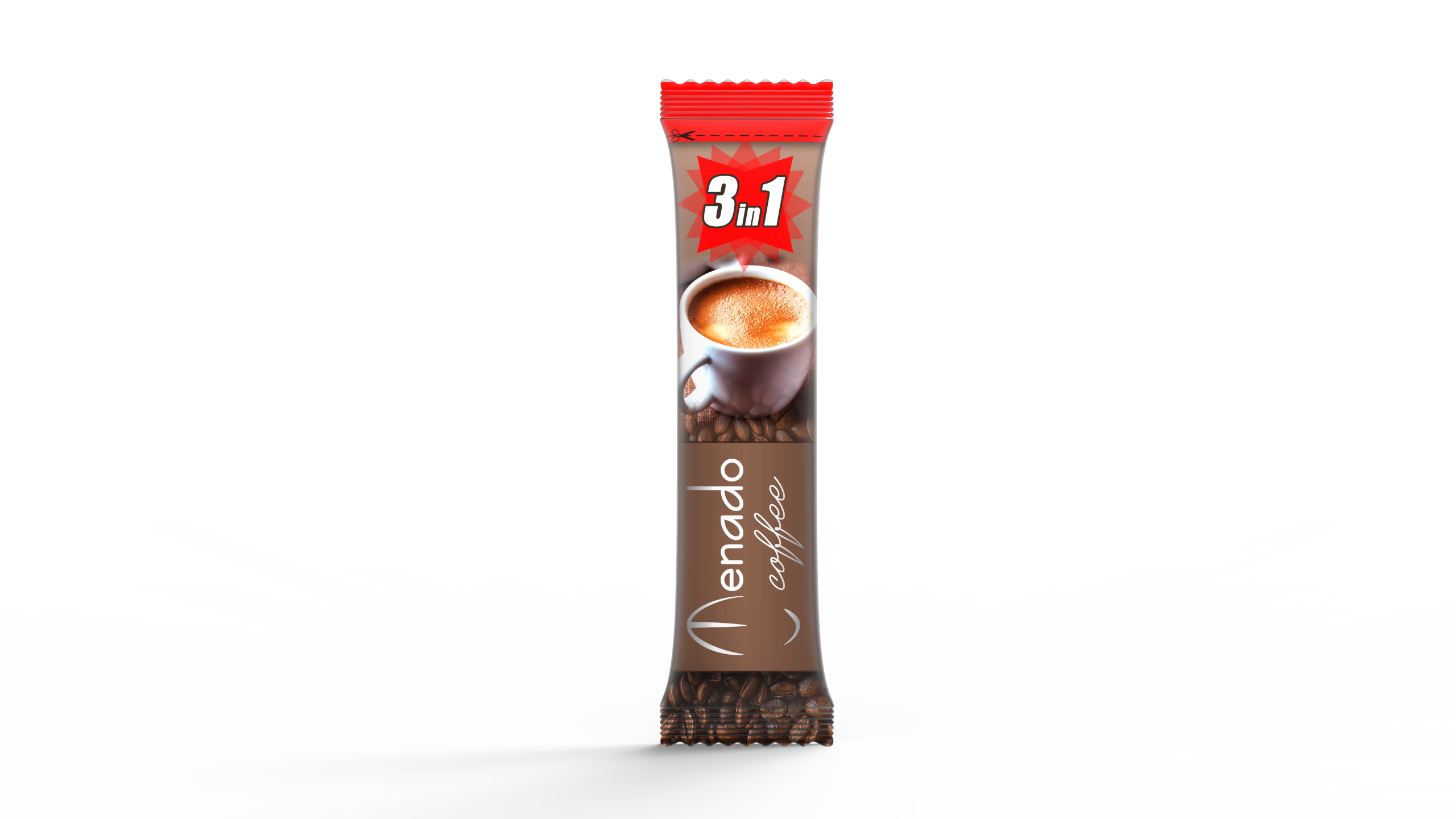 Menado - 3in1 Instant Coffee - 18 gr.