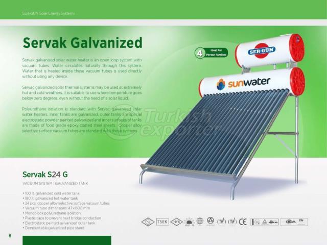 Energía solar Servak S24 G