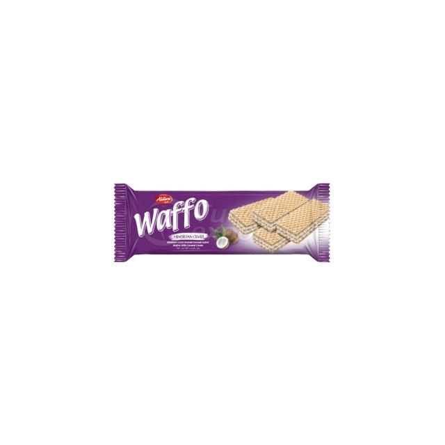 Waffo Wafer With Coconut Cream