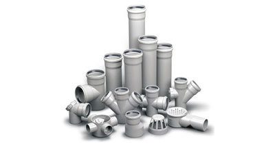 PVC CLEAN AND WASTE PIPE STABILIZERS