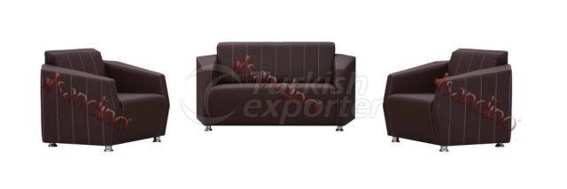 Piramit Sofa Set