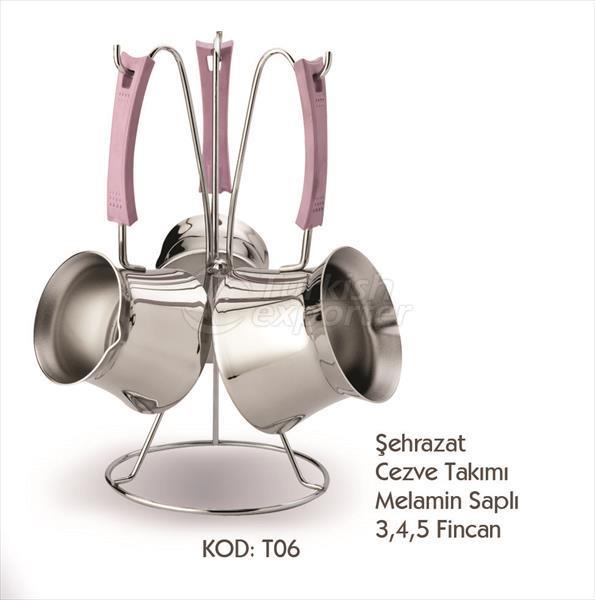 Sehrazat Coffee Pot Sets T06