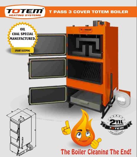 T-Pass 3 Cover Totem Boiler.