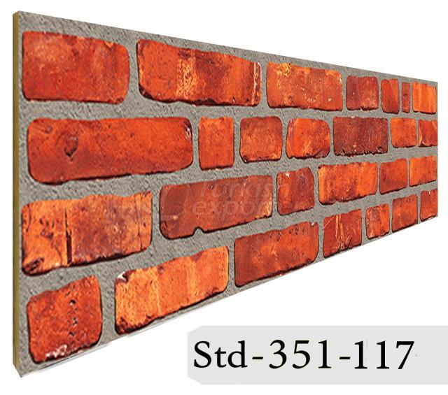 Wall Panel Strotex Brick 351-117