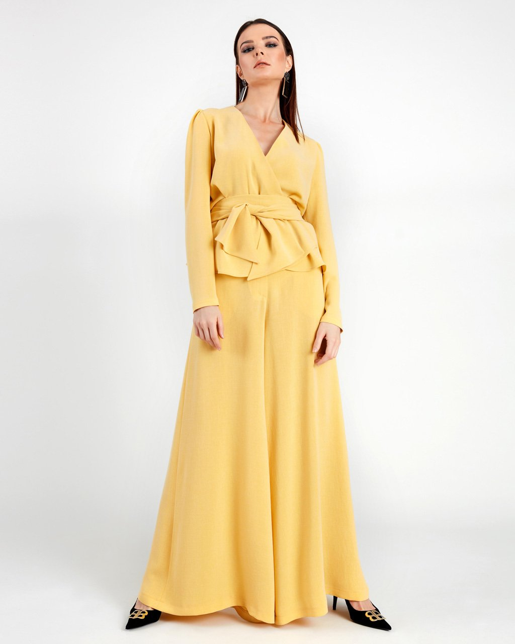 Linen Effect Suit