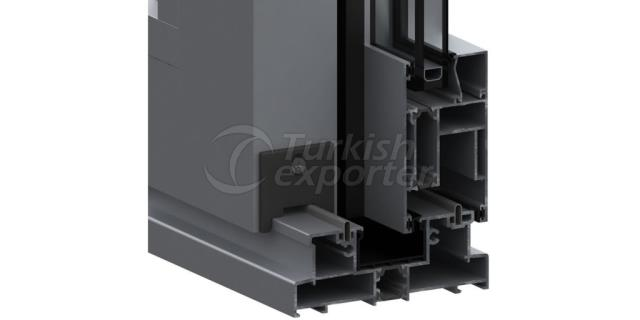 SSI-128 Heat Insulated Sliding System